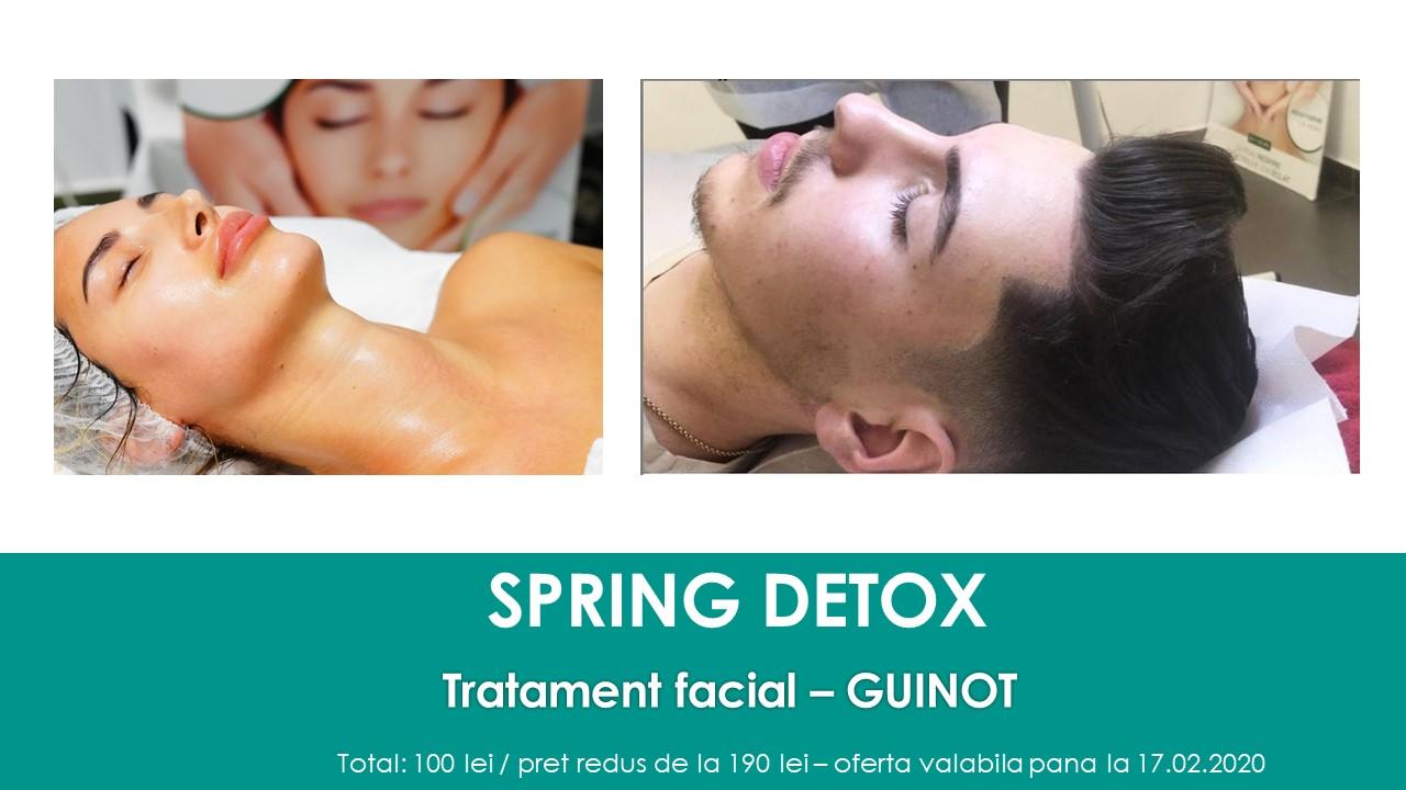 spring detox tratament facial